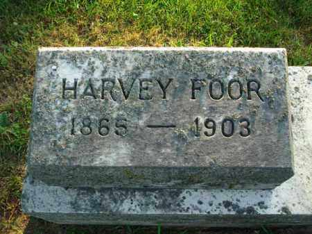 FOOR, HARVEY - Fairfield County, Ohio   HARVEY FOOR - Ohio Gravestone Photos