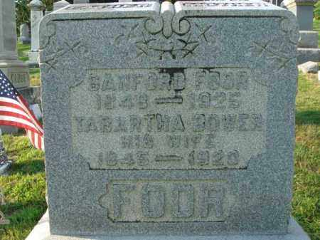 FOOR, SANFORD - Fairfield County, Ohio | SANFORD FOOR - Ohio Gravestone Photos
