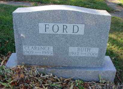 FORD, CLARENCE - Fairfield County, Ohio | CLARENCE FORD - Ohio Gravestone Photos