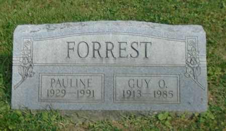 FORREST, GUY O. - Fairfield County, Ohio | GUY O. FORREST - Ohio Gravestone Photos