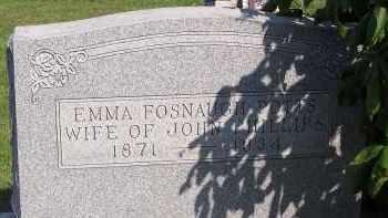 POTTS FOSNAUGH, EMMA - Fairfield County, Ohio   EMMA POTTS FOSNAUGH - Ohio Gravestone Photos