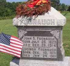 FOSNAUGH, LUCINDA - Fairfield County, Ohio | LUCINDA FOSNAUGH - Ohio Gravestone Photos