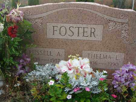 FOSTER, RUSSELL A. - Fairfield County, Ohio | RUSSELL A. FOSTER - Ohio Gravestone Photos