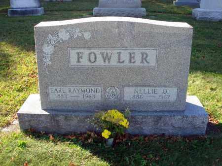 FOWLER, NELLIE O. - Fairfield County, Ohio | NELLIE O. FOWLER - Ohio Gravestone Photos