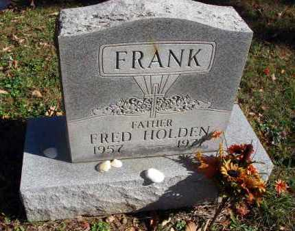 FRANK, FRED HOLDEN - Fairfield County, Ohio | FRED HOLDEN FRANK - Ohio Gravestone Photos