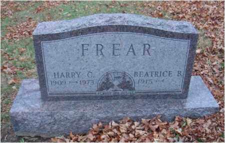 FREAR, HARRY C. - Fairfield County, Ohio   HARRY C. FREAR - Ohio Gravestone Photos