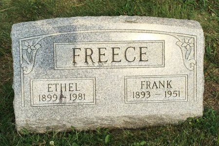 FREECE, FRANK - Fairfield County, Ohio | FRANK FREECE - Ohio Gravestone Photos