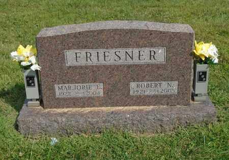 FRIESNER, ROBERT N. - Fairfield County, Ohio | ROBERT N. FRIESNER - Ohio Gravestone Photos
