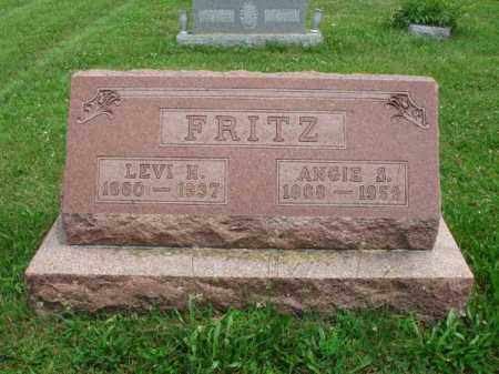 FRITZ, LEVI H. - Fairfield County, Ohio | LEVI H. FRITZ - Ohio Gravestone Photos