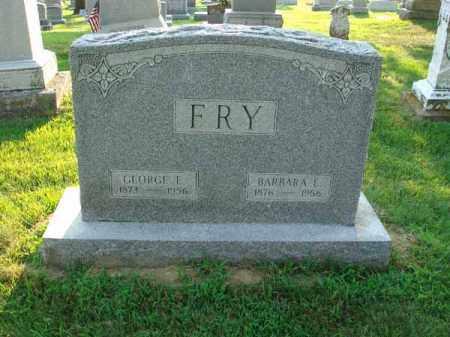 FRY, GEORGE E. - Fairfield County, Ohio | GEORGE E. FRY - Ohio Gravestone Photos