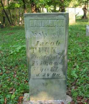 FUNK, JACOB - Fairfield County, Ohio | JACOB FUNK - Ohio Gravestone Photos