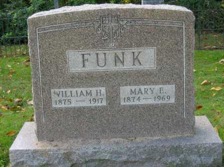 FUNK, MARY E. - Fairfield County, Ohio | MARY E. FUNK - Ohio Gravestone Photos