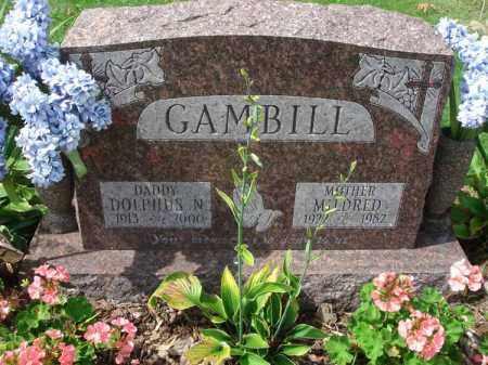 GAMBILL, DOLPHUS N. - Fairfield County, Ohio | DOLPHUS N. GAMBILL - Ohio Gravestone Photos