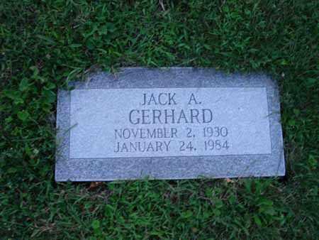GERHARD, JACK A. - Fairfield County, Ohio   JACK A. GERHARD - Ohio Gravestone Photos