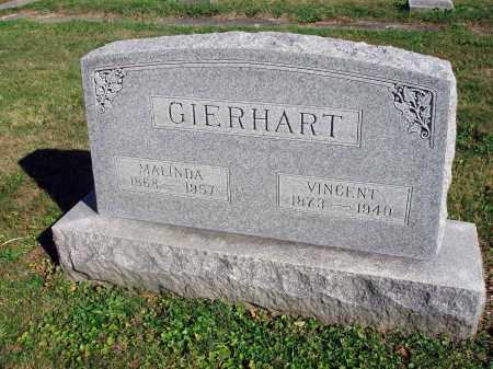 GIERHART, MALINDA - Fairfield County, Ohio | MALINDA GIERHART - Ohio Gravestone Photos