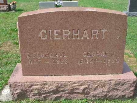 GIERHART, Z. FLORENCE - Fairfield County, Ohio | Z. FLORENCE GIERHART - Ohio Gravestone Photos