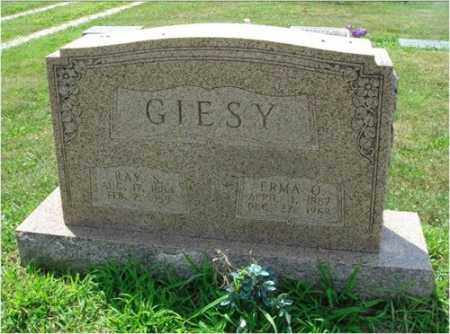 GIESY, RAY SRINER - Fairfield County, Ohio | RAY SRINER GIESY - Ohio Gravestone Photos