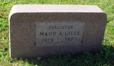 GILES, MAUD A. - Fairfield County, Ohio | MAUD A. GILES - Ohio Gravestone Photos