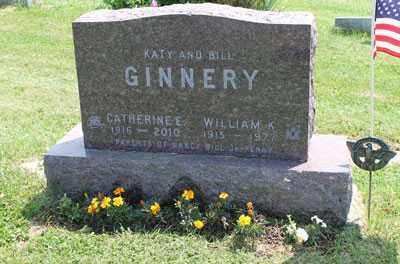 GINNERY, CATHERINE - Fairfield County, Ohio | CATHERINE GINNERY - Ohio Gravestone Photos