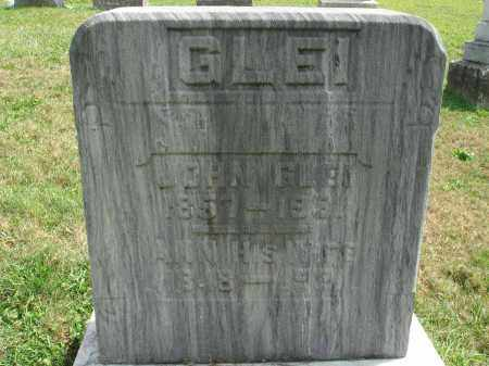 GLEI, JOHN - Fairfield County, Ohio | JOHN GLEI - Ohio Gravestone Photos