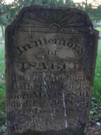 GLICK, ISABEL - Fairfield County, Ohio | ISABEL GLICK - Ohio Gravestone Photos