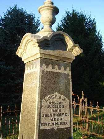 GLICK, LUCY - Fairfield County, Ohio   LUCY GLICK - Ohio Gravestone Photos