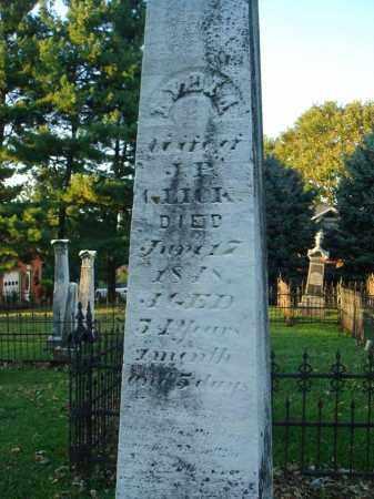 GLICK, LYDIA - Fairfield County, Ohio   LYDIA GLICK - Ohio Gravestone Photos
