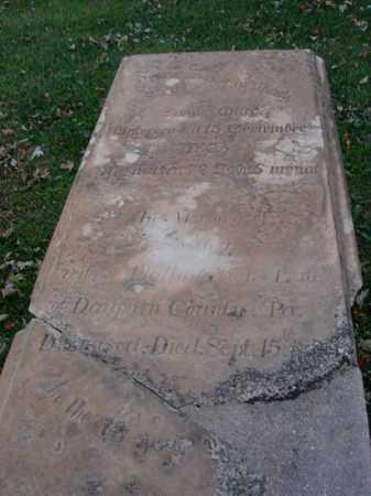 GLICK, SUSANA - Fairfield County, Ohio   SUSANA GLICK - Ohio Gravestone Photos