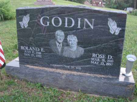 GODIN, ROLAND E. - Fairfield County, Ohio | ROLAND E. GODIN - Ohio Gravestone Photos