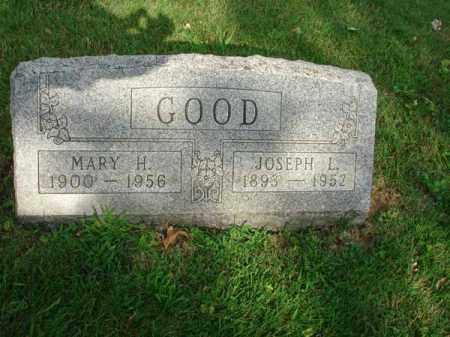 GOOD, MARY H. - Fairfield County, Ohio   MARY H. GOOD - Ohio Gravestone Photos