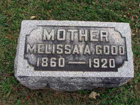 GOOD, MELISSA A. - Fairfield County, Ohio | MELISSA A. GOOD - Ohio Gravestone Photos