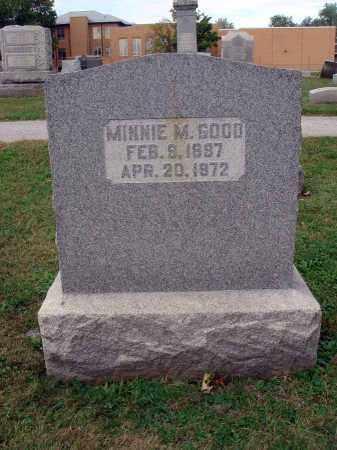 GOOD, MINNIE M. - Fairfield County, Ohio | MINNIE M. GOOD - Ohio Gravestone Photos