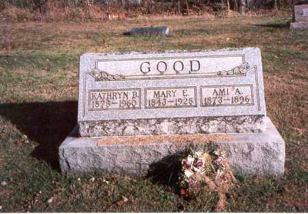 GOOD, MARY E. - Fairfield County, Ohio | MARY E. GOOD - Ohio Gravestone Photos