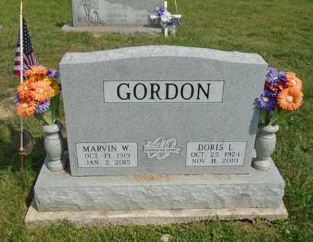 GORDON, MARVIN W. - Fairfield County, Ohio | MARVIN W. GORDON - Ohio Gravestone Photos