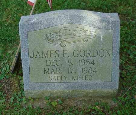 GORDON, JAMES F. - Fairfield County, Ohio | JAMES F. GORDON - Ohio Gravestone Photos