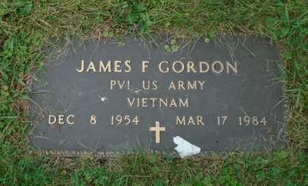 GORDON, JAMES F - Fairfield County, Ohio | JAMES F GORDON - Ohio Gravestone Photos