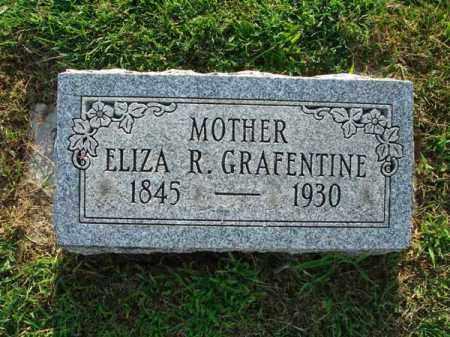 GRAFENTINE, ELIZA R. - Fairfield County, Ohio   ELIZA R. GRAFENTINE - Ohio Gravestone Photos