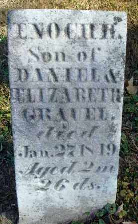 GRAUEL, ENOCH H. - Fairfield County, Ohio | ENOCH H. GRAUEL - Ohio Gravestone Photos