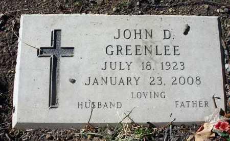 GREENLEE, JOHN D. - Fairfield County, Ohio   JOHN D. GREENLEE - Ohio Gravestone Photos