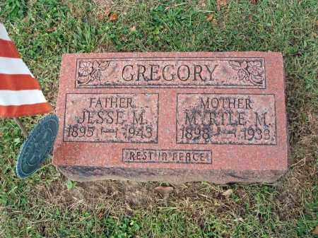 GREGORY, JESSE M. - Fairfield County, Ohio | JESSE M. GREGORY - Ohio Gravestone Photos