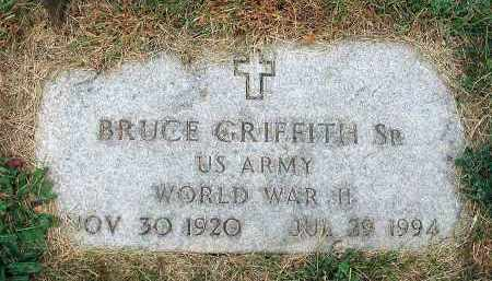 GRIFFITH, BRUCE - Fairfield County, Ohio | BRUCE GRIFFITH - Ohio Gravestone Photos