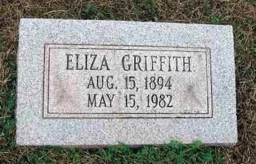 GRIFFITH, ELIZA - Fairfield County, Ohio | ELIZA GRIFFITH - Ohio Gravestone Photos