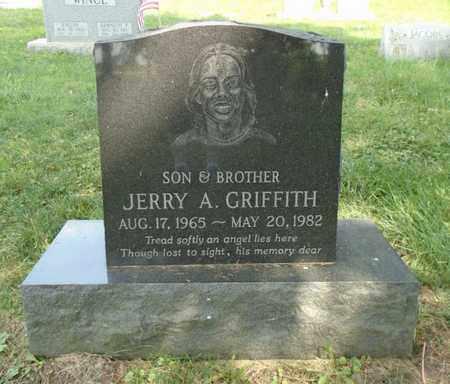 GRIFFITH, JERRY A. - Fairfield County, Ohio | JERRY A. GRIFFITH - Ohio Gravestone Photos