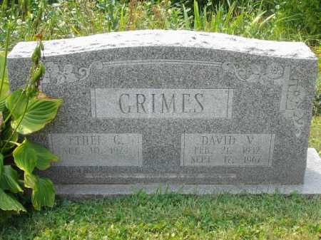 GRIMES, ETHEL G (GYWAYNE) - Fairfield County, Ohio | ETHEL G (GYWAYNE) GRIMES - Ohio Gravestone Photos