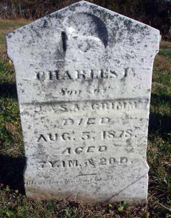 GRIMM, CHARLES F. - Fairfield County, Ohio | CHARLES F. GRIMM - Ohio Gravestone Photos