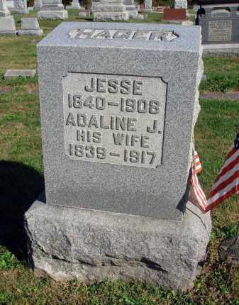 HAGER, JESSE - Fairfield County, Ohio   JESSE HAGER - Ohio Gravestone Photos