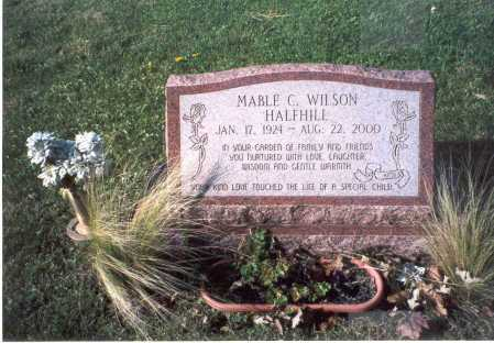 HALFHILL, MABLE C. - Fairfield County, Ohio | MABLE C. HALFHILL - Ohio Gravestone Photos