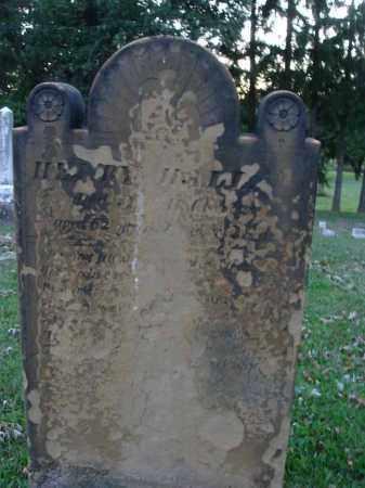 HALL, HENRY - Fairfield County, Ohio | HENRY HALL - Ohio Gravestone Photos