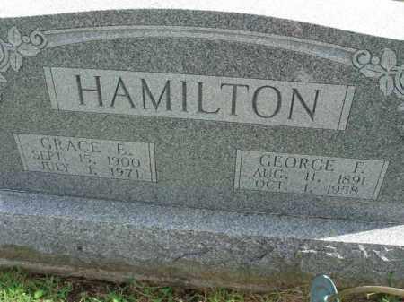 HAMILTON, GRACE E. - Fairfield County, Ohio | GRACE E. HAMILTON - Ohio Gravestone Photos