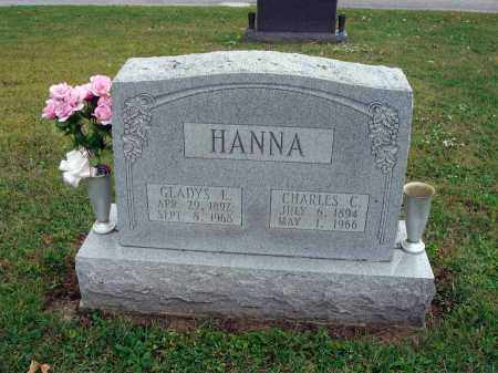 HANNA, CHARLES C. - Fairfield County, Ohio | CHARLES C. HANNA - Ohio Gravestone Photos